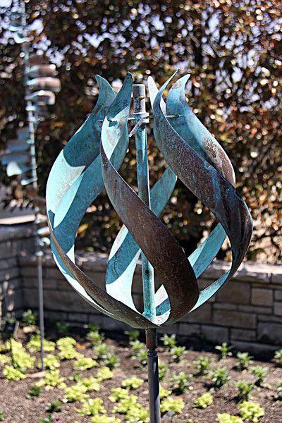 tulip wind sculpture
