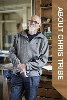 About Chris Tribe: Furniture Maker & Woodwork Course Tutor
