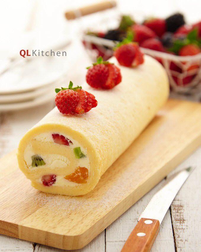 Fruity Vanilla Swiss Roll Recipe The O Jays Families