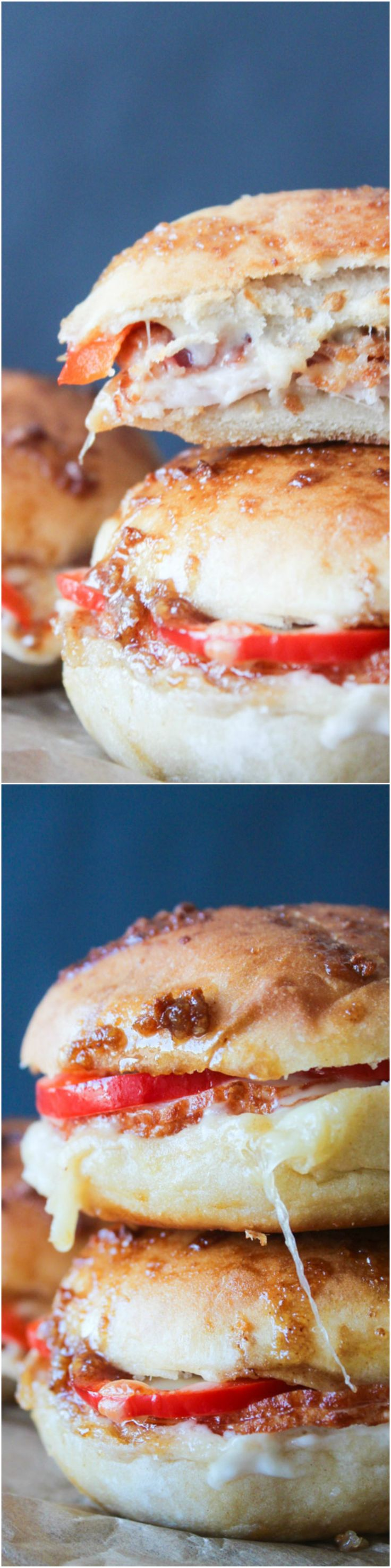 Kentucky hot brown sliders!