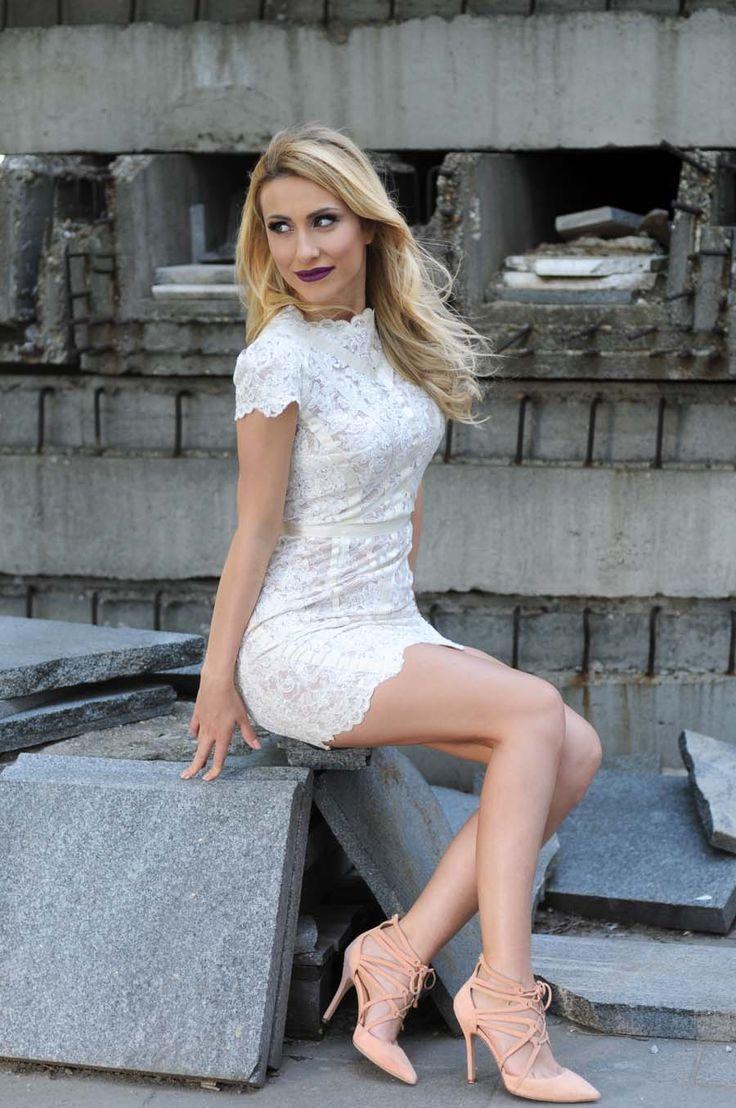 Lace Mini Dress / Stasha fashion Blog 1