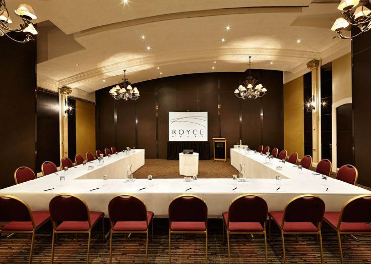 Royce Bentley Room Conference - U-Shape Meeting - Royce Hotel Melbourne Conference Venue - Melbourne Wedding Venue