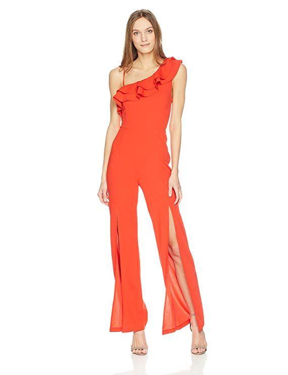 87d57828a4dc GUESS Women s Sleeveless Else Jumpsuit