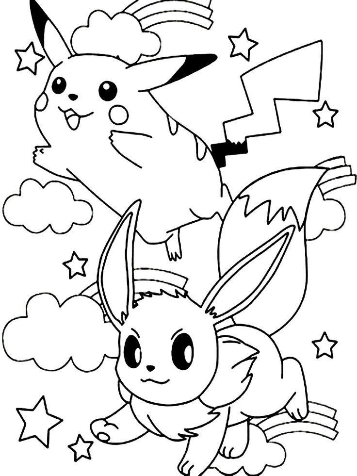 Dibujos animados para colorear - Pokemon, para niños ...
