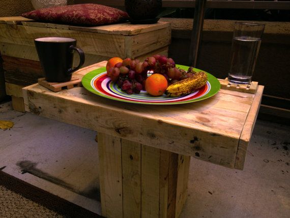 Pallet Wood Coffee Table by Palletso on Etsy