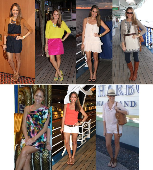 Sydney's Fashion Diary - Petite Lookbook, Fashion Steals and Deals: Guest Post: How to pack for a cruise