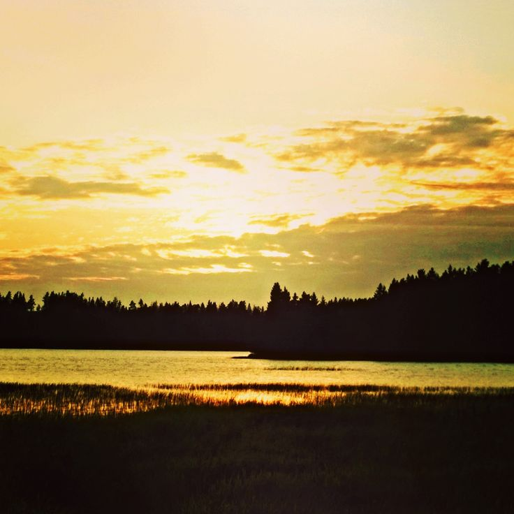 Auringonlasku Akaassa ~Sunset in Finland