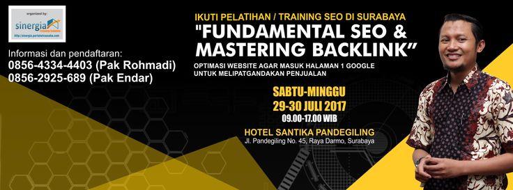 Pelatihan Bisnis Online dan SEO di Surabaya dan Depok 2017 | Isparmo Ir. | Pulse | LinkedIn
