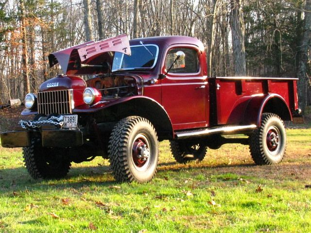 Dodge Power Wagon out of storage