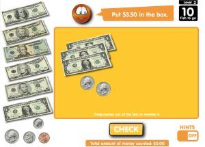Free Online Money Games For Kids:  Identifying Coins, Counting Money & Making Change