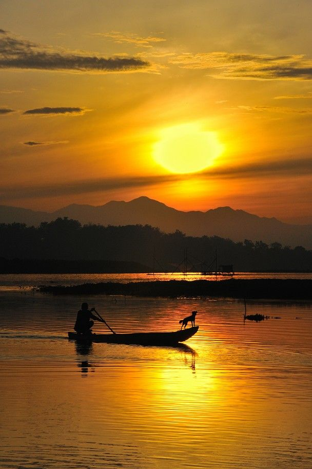 Early Morning Fishing, Solo Indonesia