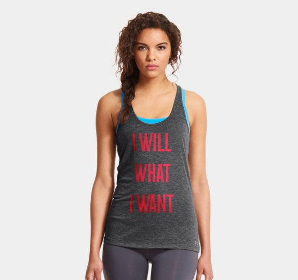 Women's UA Charged Cotton® Tri-Blend I Will What I Want™ Tank | 1267024 | Under Armour US