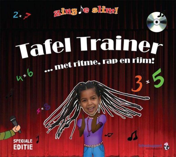Informatief Lezen - Tafeltrainer cd - SPECIAL EDITION met succes de tafels trainen met muziek