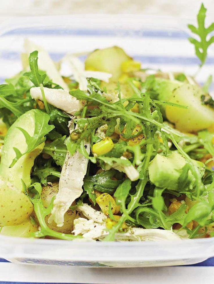 Jamie's Chicken & Sweetcorn Potato Salad Recipe   Woolworths