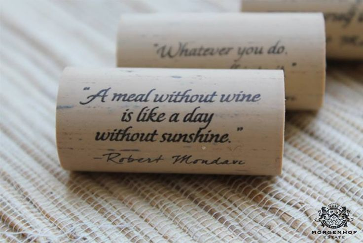 """Wine is bottled poetry"". Are you feeling poetic today? Stellenbosch and Morgenhof Wines....pure poetry."