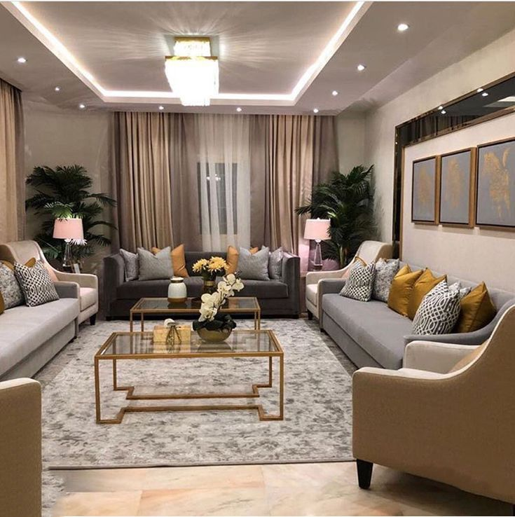 A Luxurious Touch Of Golden Is What Your Interior Design Project Needs Discover The Perf Luxury Living Room Living Room Design Decor Luxury Living Room Design