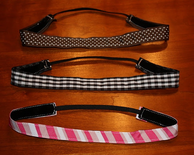 ribbon headband DIY