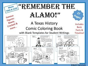 alamo battle coloring pages - photo#31
