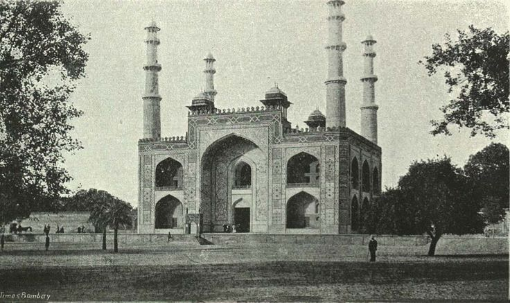 The Tomb of Akbar the Great, c. 1905