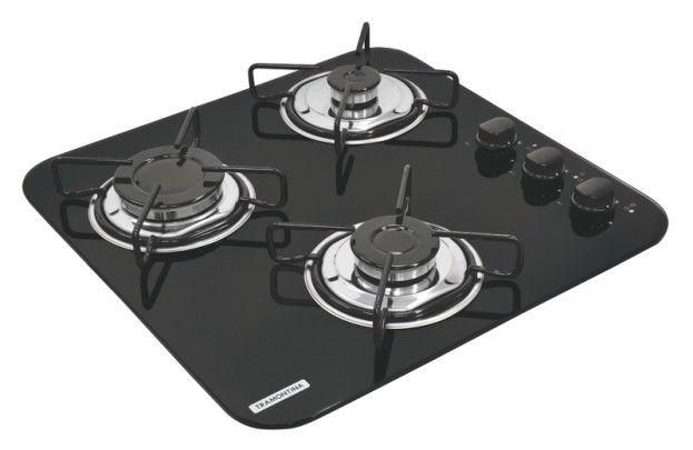 Cooktop em vidro temperado com 3 queimadores - 94726501 : Cooktops - Standard | Tramontina