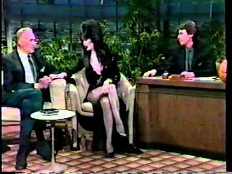 Elvira Mistress of the Dark -  Vincent Price 1986 Tonight Show   - David Brenner hosts