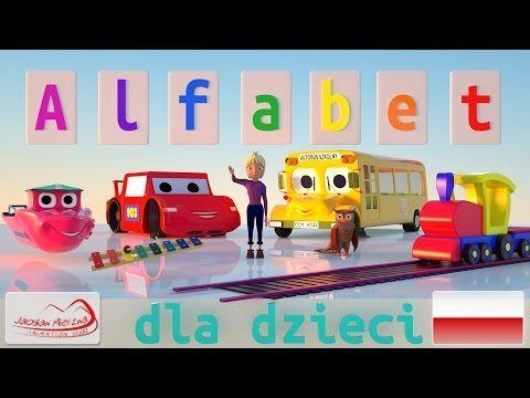 Polski alfabet dla dzieci - Piosenka - YouTube