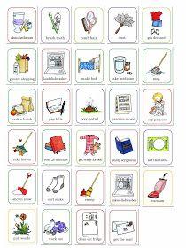 Chores printable