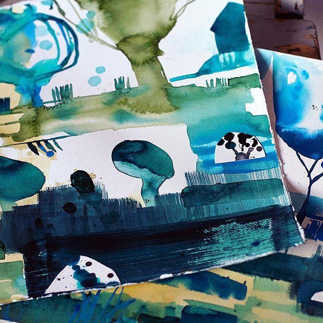 Ink by Anette Carlsson Moberg/Patternplan www.patternplan.se