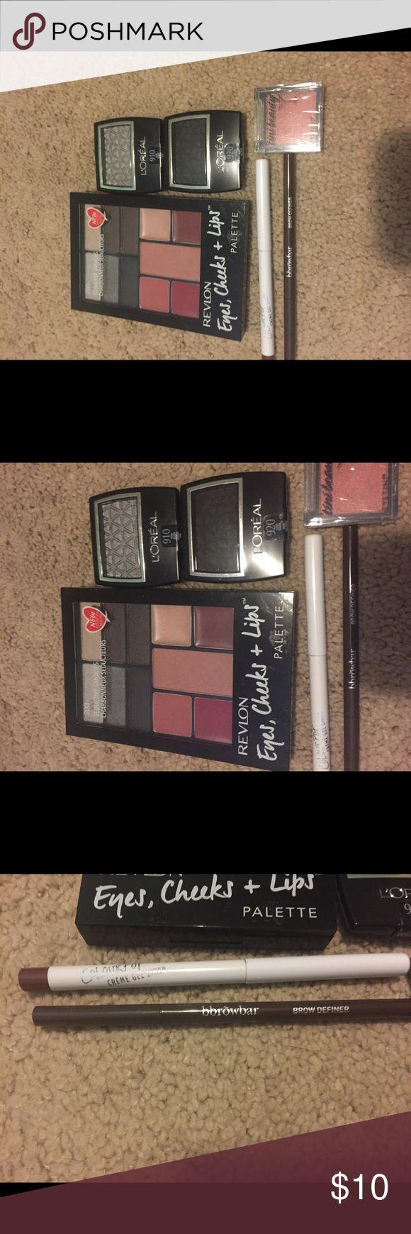 Eye makeup bundle All NWT- includes eye shadow, eye liner, and eye brow pencil. Revlon Makeup Eyeshadow