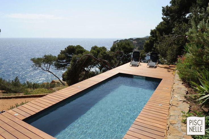 138 best Piscine, bassin et aménagement images on Pinterest Indoor - amenagement bord de piscine
