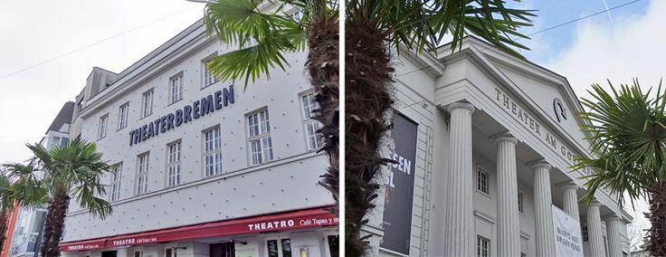 Das #Theater #Bremen von außen. http://blog.bremen-tourismus.de/theater-bremen/