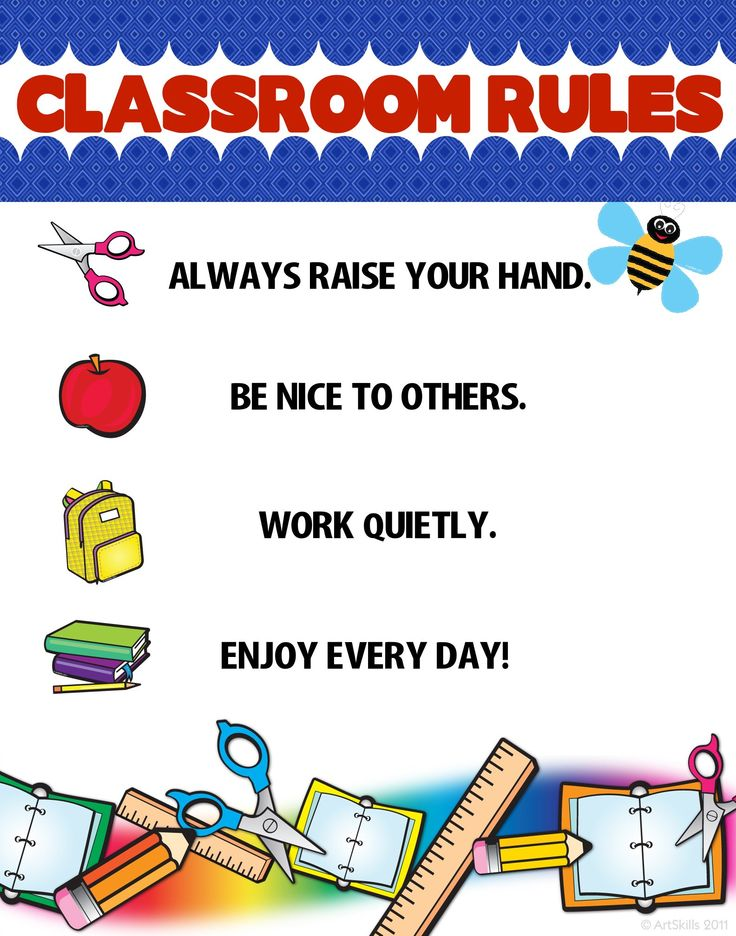 Create a Classroom Rules Poster | Classroom Poster ...