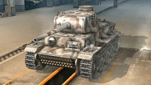 cool World of Tanks Blitz teaches us how not to be seen  Ch-ch-changes