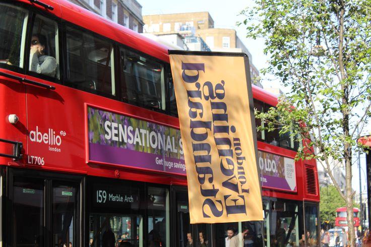 Evening Standard Flag- Oxford Street