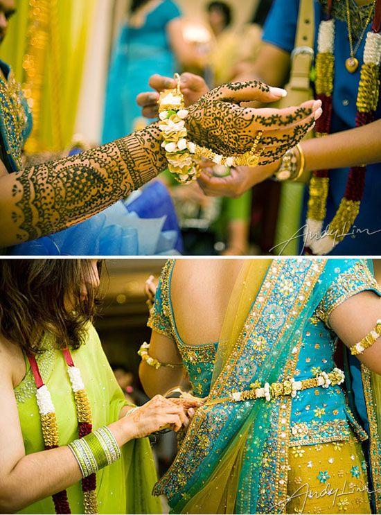 A colourful Punjabi-Sindhi wedding! My dream is to go to India and attend a wedding like this