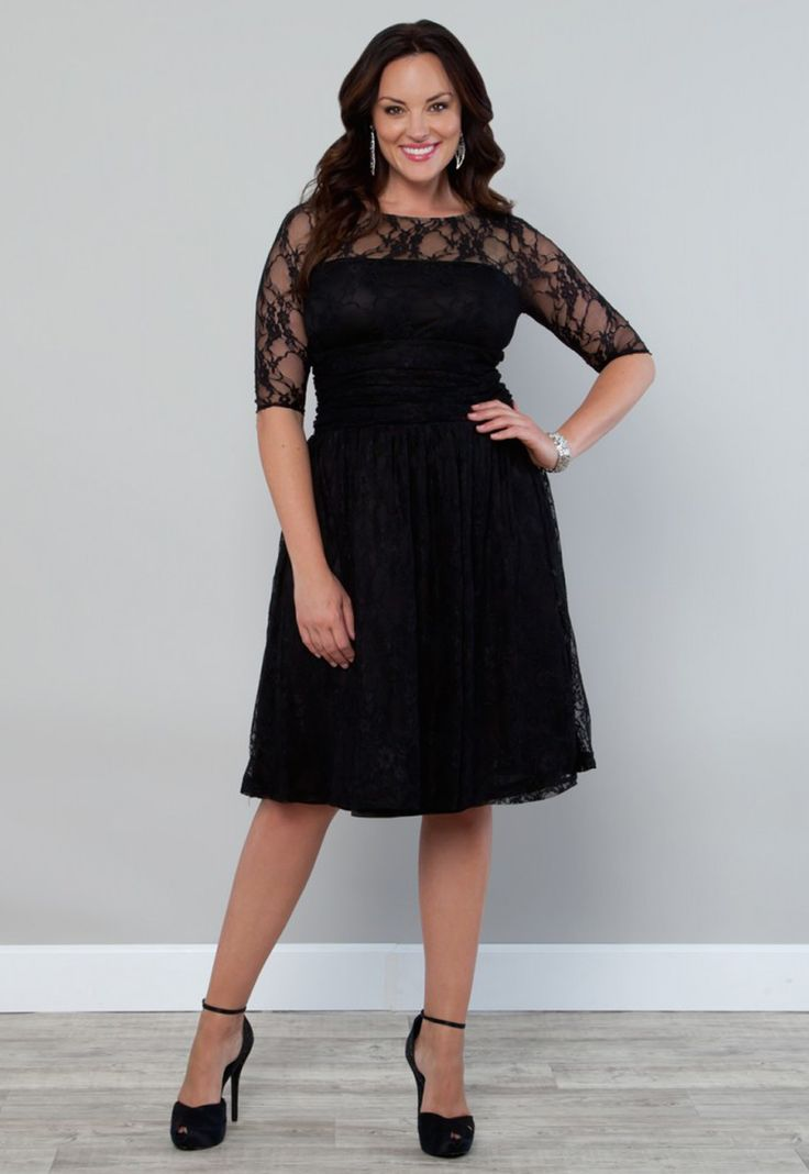 17 Best ideas about Plus Size Black Dresses on Pinterest | Full ...