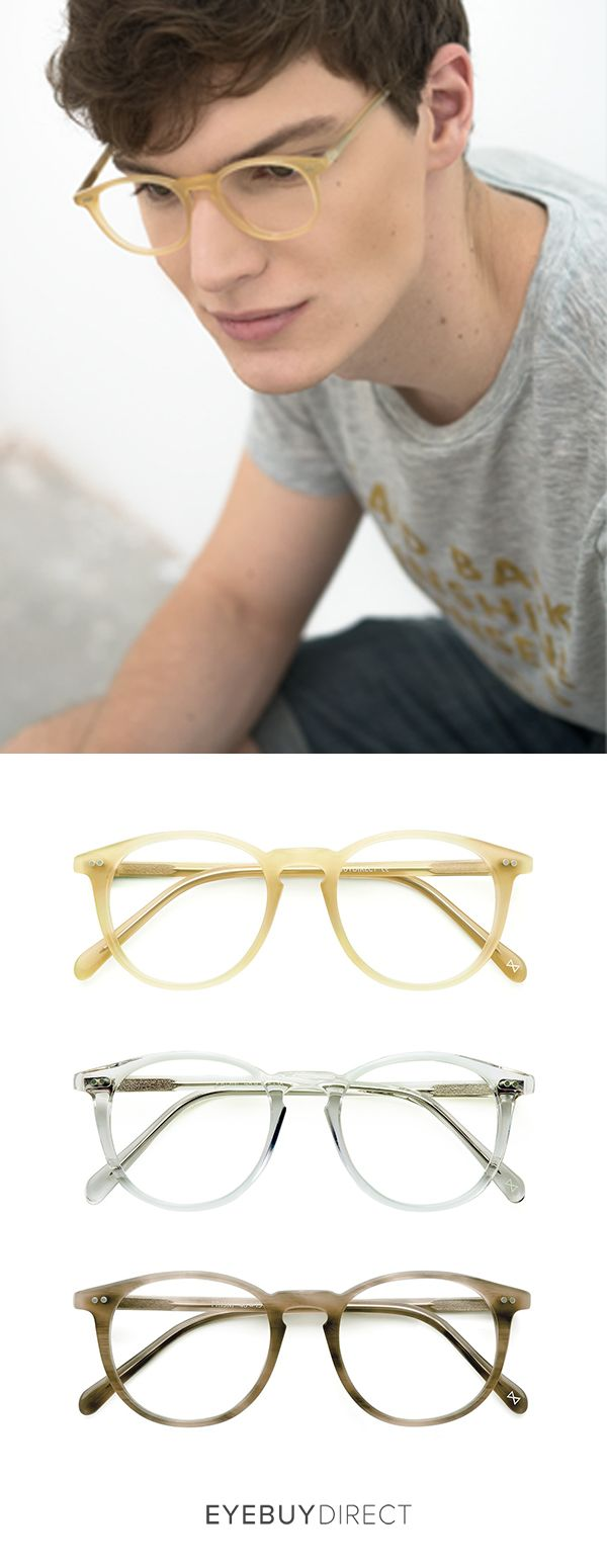 Now you can change your look like you change your mind. Curate your own eyewear collection with EyeBuyDirect. Discover prescription eyewear online, starting at only $6. Styles shown: Prism in ginger, translucent, and chestnut.