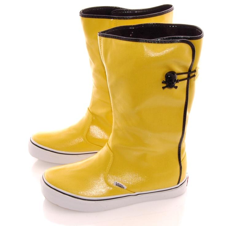 #yellow: Vans Rainboots, Mellow Yellow, Boots Yellow, Yellow Mens Fashion, Men Fashion, Yellow Rainboots, Thanks Yellow Awesome, Yellow Yellow