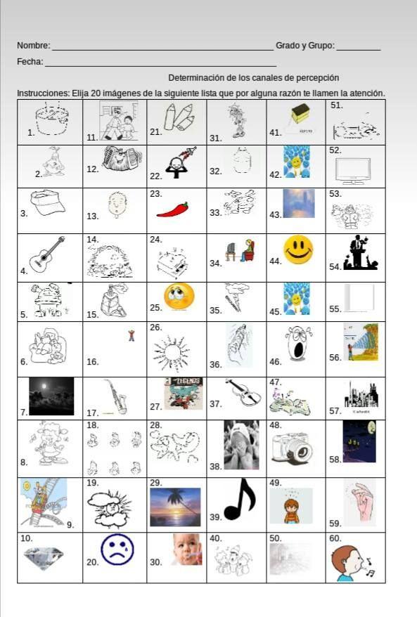 Hola a todos, comparto con ustedes este material de apoyo para detectar los estilos de aprendizaje de nuestros alumnos mediante dibujos,