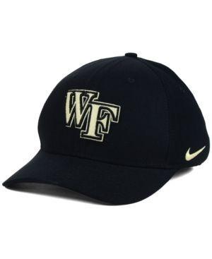 Nike Wake Forest Demon Deacons Classic Swoosh Cap - Black M/L