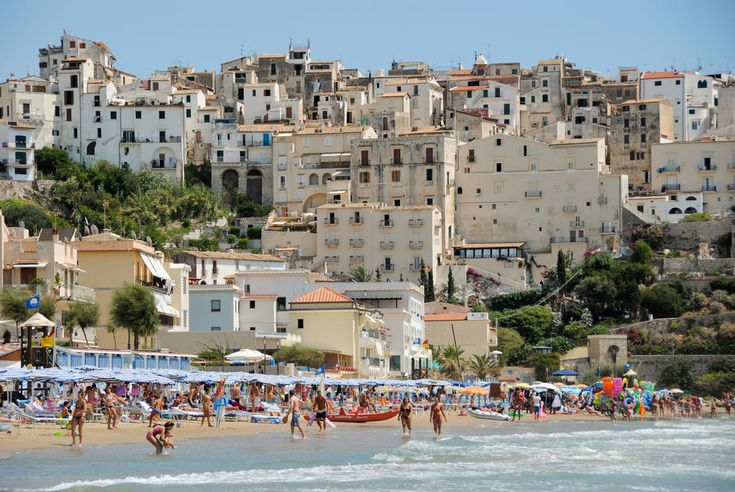 Sperlonga Beach – South of Rome, Italy    Sperlonga is a small coastal town south west of Rome. I visited this spot with some friends of mine in Rome back in 2010. I remember it being a wonderfully relaxing day on the beach. The climb to the top of town (ie. the top of this picture) for lunch did however require quite a bit of effort. Beautiful coastal views and a delicious Italian lunch awaited me at the top. It was well worth the hike!