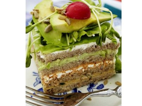 Sandwich cake, Vegetarian Recipes Picture - All about Food