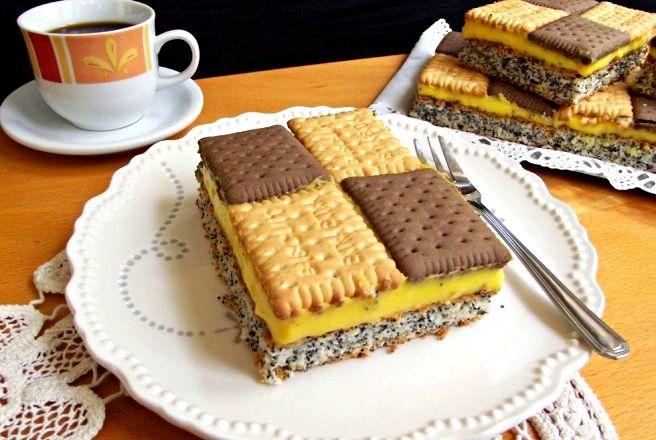 Retetă prăjitură tablă de sah - Delicioase.com
