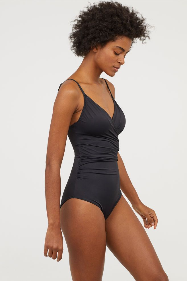 b5731d68e0e H&M Shaping Swimsuit - Black in 2019 | Styling | Swimsuits, Black ...