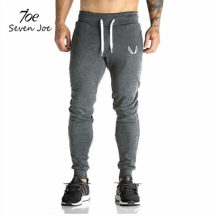 Seven Joe Men full sportswear Pants Casual Elastic cotton Mens Fitness Workout Pants skinny Sweatpants Trousers Jogger Pants //Price: $26.70 & FREE Shipping //     #styles #beauty #outfit #bpstylesandtrends