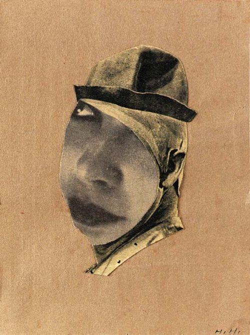 Hannah Höch, Clown, 1924. Photomontage