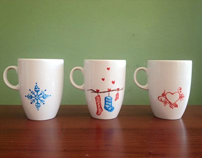 "Check out new work on my @Behance portfolio: ""mug cups hand made decorated"" http://be.net/gallery/44571293/mug-cups-hand-made-decorated"