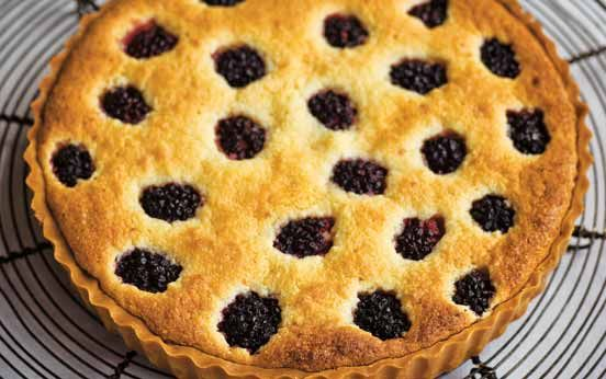 Tana Ramsay's almond and blackberry tart | I've picked so many blackberries I was looking for a recipe other than crumble.