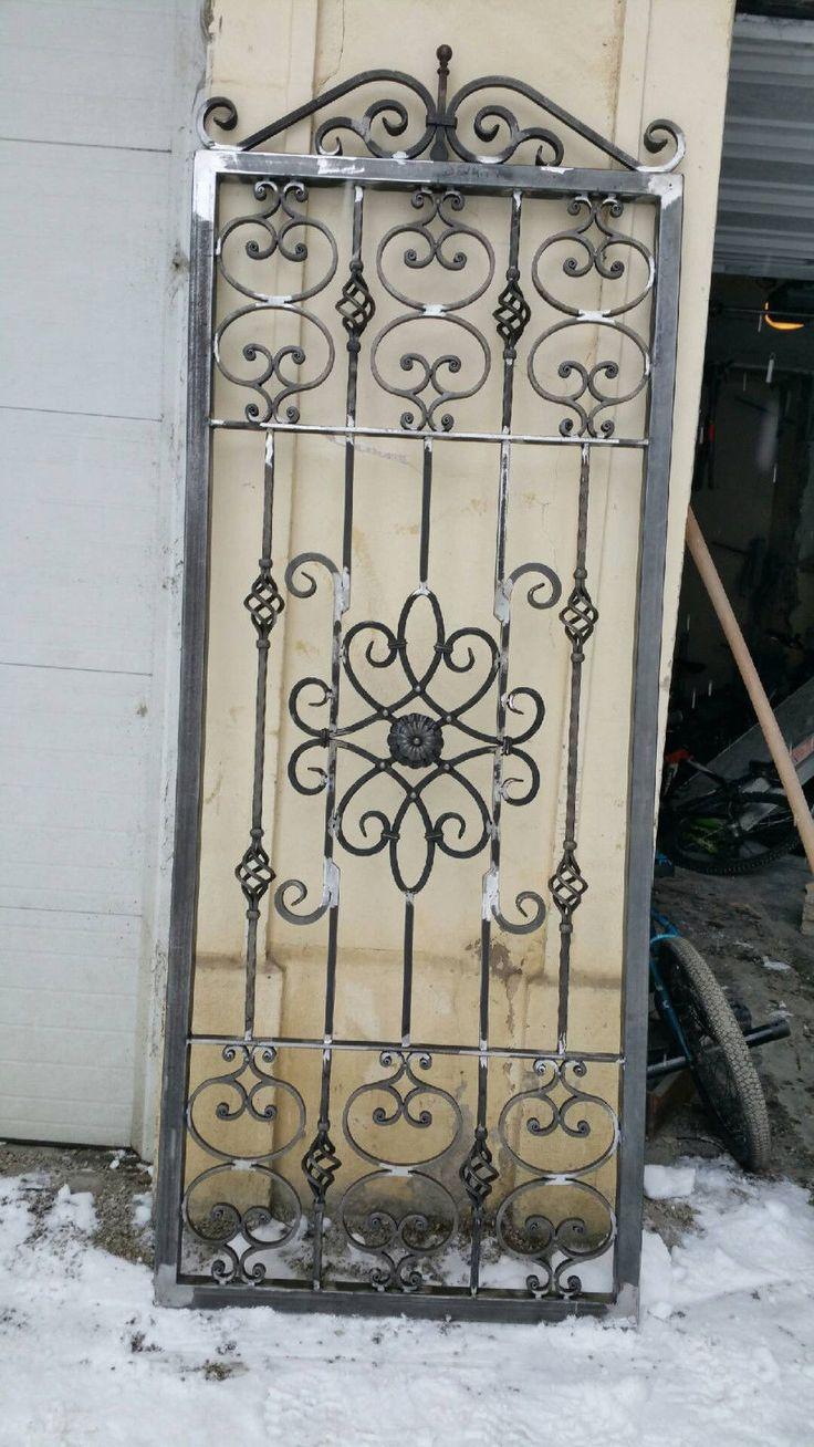 Les 25 meilleures id es de la cat gorie portes en fer sur pinterest portes en fer forg for Les portes de fer forge