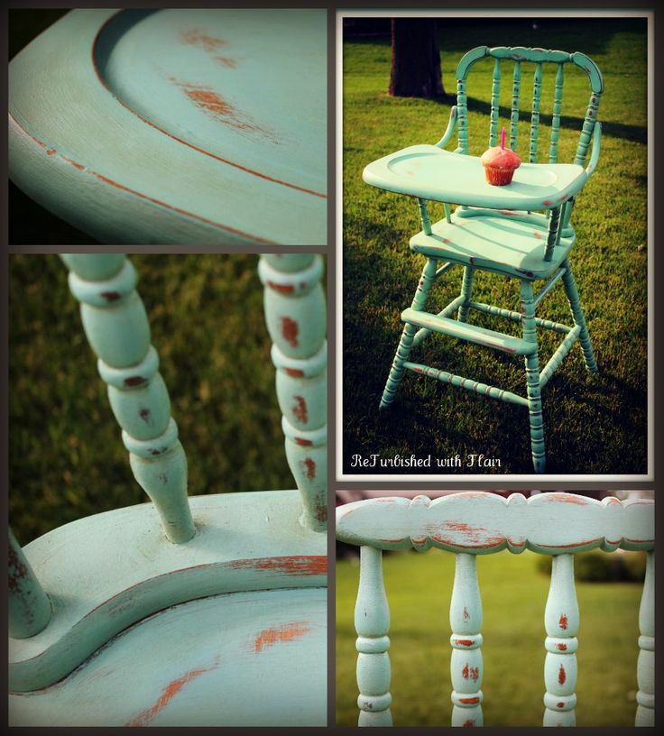 Custom Jenny Lind high chair for a little girlu0027s 1st birthday party! Painted in aqua & 21 best Gathered Willow Furniture images on Pinterest | Willow ...